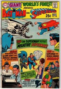WORLD'S FINEST #188 (NG) Superman Batman Silver Age DC