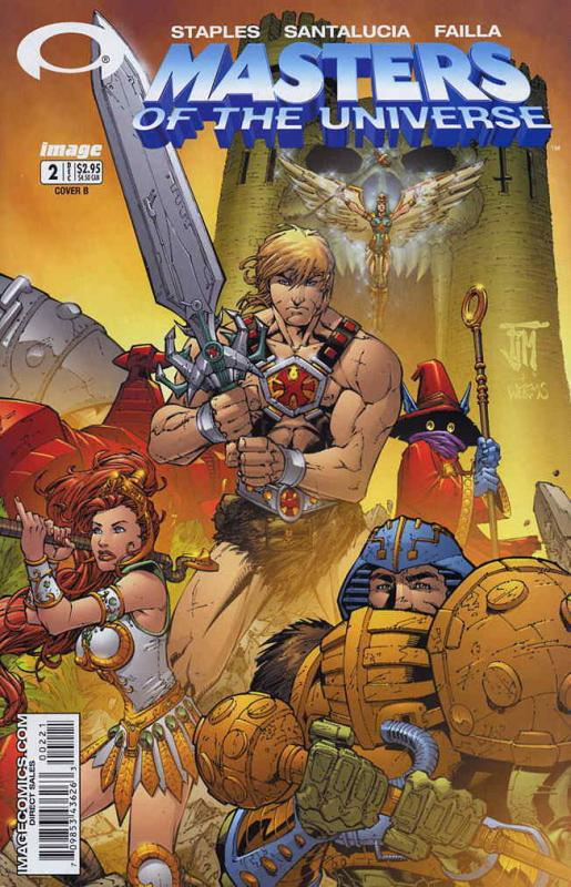 Masters of the Universe (Image) #2B VF/NM; Image | save on shipping - details in