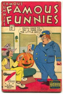 Famous Funnies #159 1947- topless woman panel- Buck Rogers
