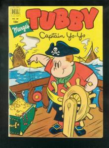 MARGE'S TUBBY-FOUR COLOR #381 1952-1st ISSUE-CAPT YOYO VG