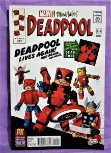 Gerry Duggan DEADPOOL #15 Previews SDCC MiniMates Variant Cover (Marvel, 2016)!