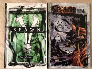 SPAWN - TPB Book 3 & 4- McFarland
