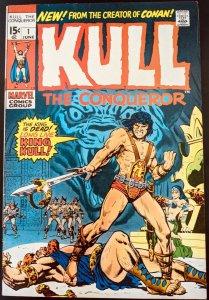 Kull the Conqueror #1. (Jun 1971, Marvel) VF