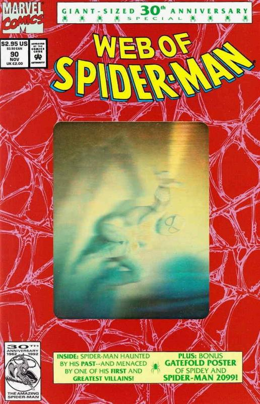 Web of Spider-Man, The #90 (2nd) FN; Marvel | save on shipping - details inside
