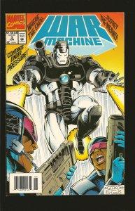 Marvel Comics War Machine Vol 1 No 3 June 1994