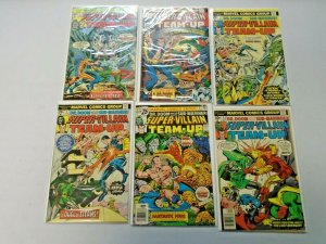 Super-Villain Team-Up Comic Lot Near Set #1-17 11 Diff Average 4.0 VG (1975)