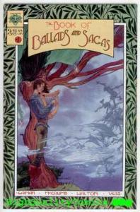 BOOKS of BALLADS & SAGAS #1, VF/NM, Neil Gaiman, Charles Vess, 1995