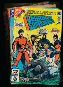 DC LOT OF 12-LEGION OF SUPER-HEROES #279-283,285-287,290,292,294,300 (PF371)
