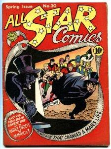 All Star Comics #20 dr. fate/sandman film cover DC fn