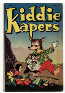Kiddie Kapers #1 1946-First issue-Infinity cover-Golden-Age VG+