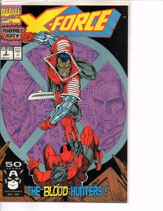 Marvel Comics X-Force Vol. 1 #2 Deadpool Rob Liefeld