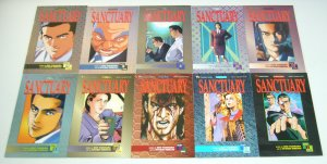 Sanctuary part 5 #1-13 VF/NM complete series - viz manga - fumimura - ikegami