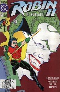 ROBIN II: THE JOKER'S WILD (1991 Series) #1 Very Good Comics Book