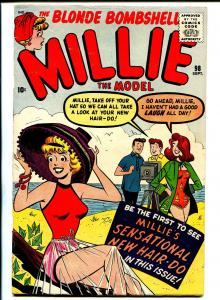Millie The Model #98 1960-Marvel-swim suit-camera-spicy art-FN/VF