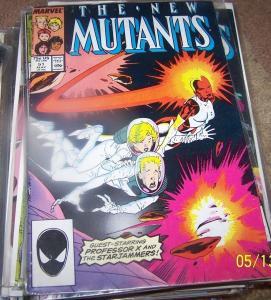 New Mutants  # 51 May 1987, Marvel starjammers professor x returns