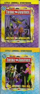 Total Justice: Justice for All, Justice on Apokolips (set of 2 books)