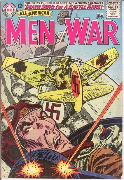 ALL AMERICAN MEN OF WAR 106 VG-F COMICS BOOK
