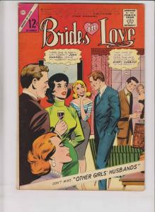 Brides in Love #44 FN- december 1964 - charlton comics - silver age romance