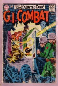 G.I. COMBAT #102 1963- THE HAUNTED TANK-KUBERT ART-DC FR