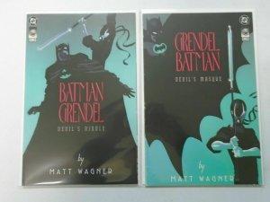 Batman Grendel set #1+2 (1993) 6.0 FN