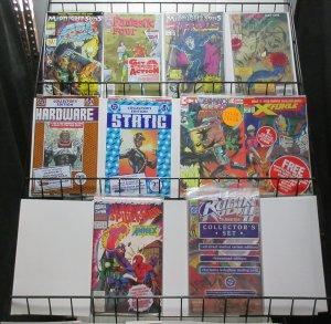 Polybagged Comics Lot 10Diff Static Robin Ghost Rider Morbius Fun-Packs!