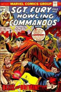 Marvel SGT. FURY AND HIS HOWLING COMMANDOS #117 FN/VF