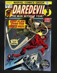 Daredevil #116 Owl!