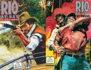 RIO AT BAY (1992 DH) 1-2  Doug Wildey  COMPLETE!
