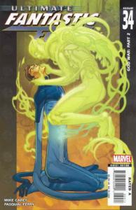 Ultimate Fantastic Four #34 FN; Marvel   save on shipping - details inside
