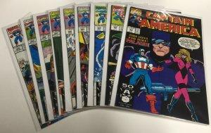 Captain America 381 382 384 385 386 387 388 389 390 Nm Near Mint Marvel Comics