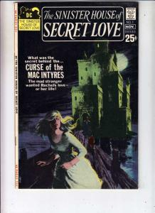 Sinister House of Secret Love #1 (Nov-71) VF/NM+ High-Grade