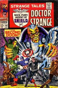 Strange Tales (1951 series) #161, VG- (Stock photo)