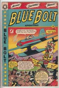 Blue Bolt #103 (Jan-50) VG+ Affordable-Grade Blue Bolt