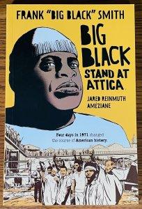 BIG BLACK STAND AT ATTICA Comic Book REVIEW COPY NM BOOM Lives Matter BLM Prison