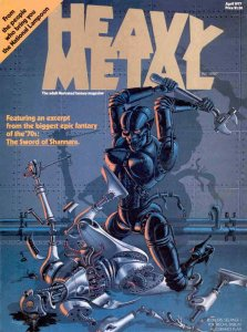 Heavy Metal #1 VG; Metal Mammoth | low grade comic - save on shipping - details