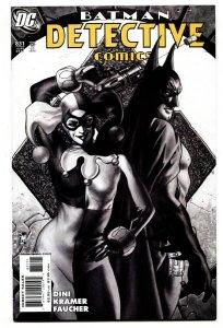 Detective Comics #831 comic book-HARLEY QUINN cover--batman