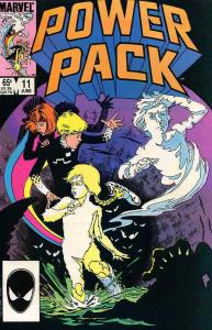 Power Pack #11 FN; Marvel | save on shipping - details inside