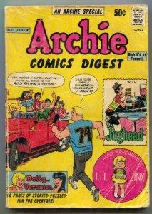 Archie Comics Digest #1 1973- Neal Adams- Betty & Veronica G