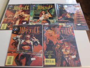 LOT OF 5 ~ Neil Gaiman's LADY JUSTICE #7, 8, 9, 10, 11 F/VF(SIC608)