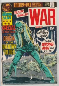 Star Spangled War Stories #154 (Jan-71) FN Mid-Grade Unknown Soldier, Enemy Ace