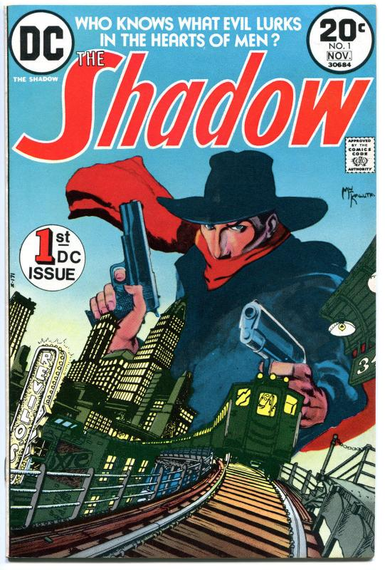 SHADOW #1, FN/VF, Kaluta, Who knows what Evil lurks in the Heart, 1973