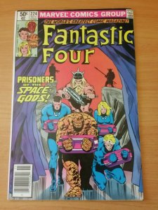 Fantastic Four #224 Newsstand Edition ~ VERY FINE - NEAR MINT NM ~ 1980 MARVEL