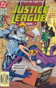 Justice League Europe #44, VF+ (Stock photo)