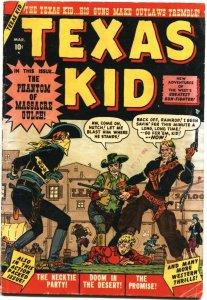 TEXAS KID #2-1951-JOE MANEELY COVER & STORY ART-GHOST RIDER PROTOTYPE