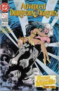 Advanced Dungeons & Dragons #35 FN; DC | save on shipping - details inside