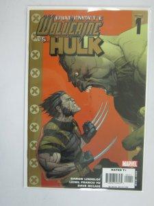 Ultimate Wovlerine vs. Hulk #1 NM (2006)