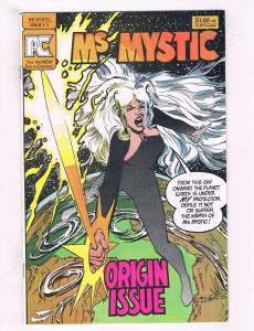 Lot of 2 Ms Mystic PC Comics # 1 2 TW2