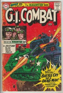 G.I. Combat # 116 Strict VG+ Affordable-Grade Johnny Cloud Navajo Ace crossover