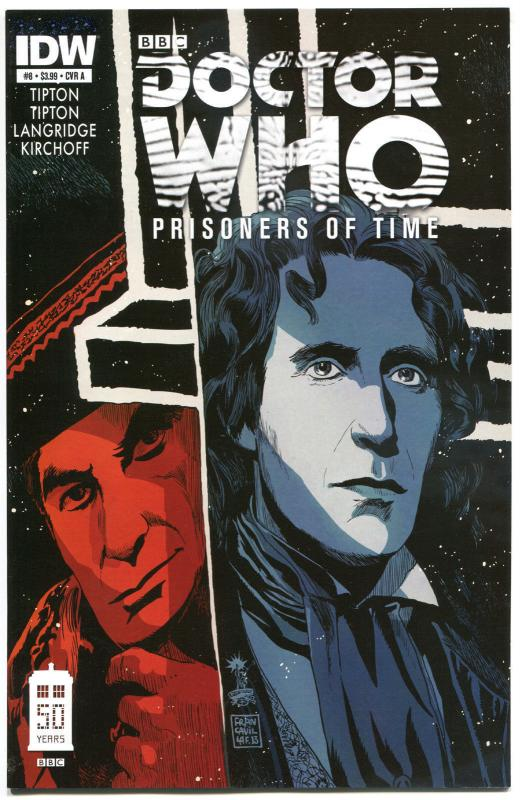 DOCTOR WHO Prisoners of Time #8, VF+, 2013, IDW, Tardis, more DW in store
