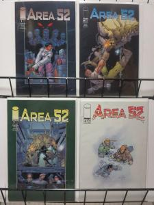 AREA 52 (2001 IM) 1-4  complete series!